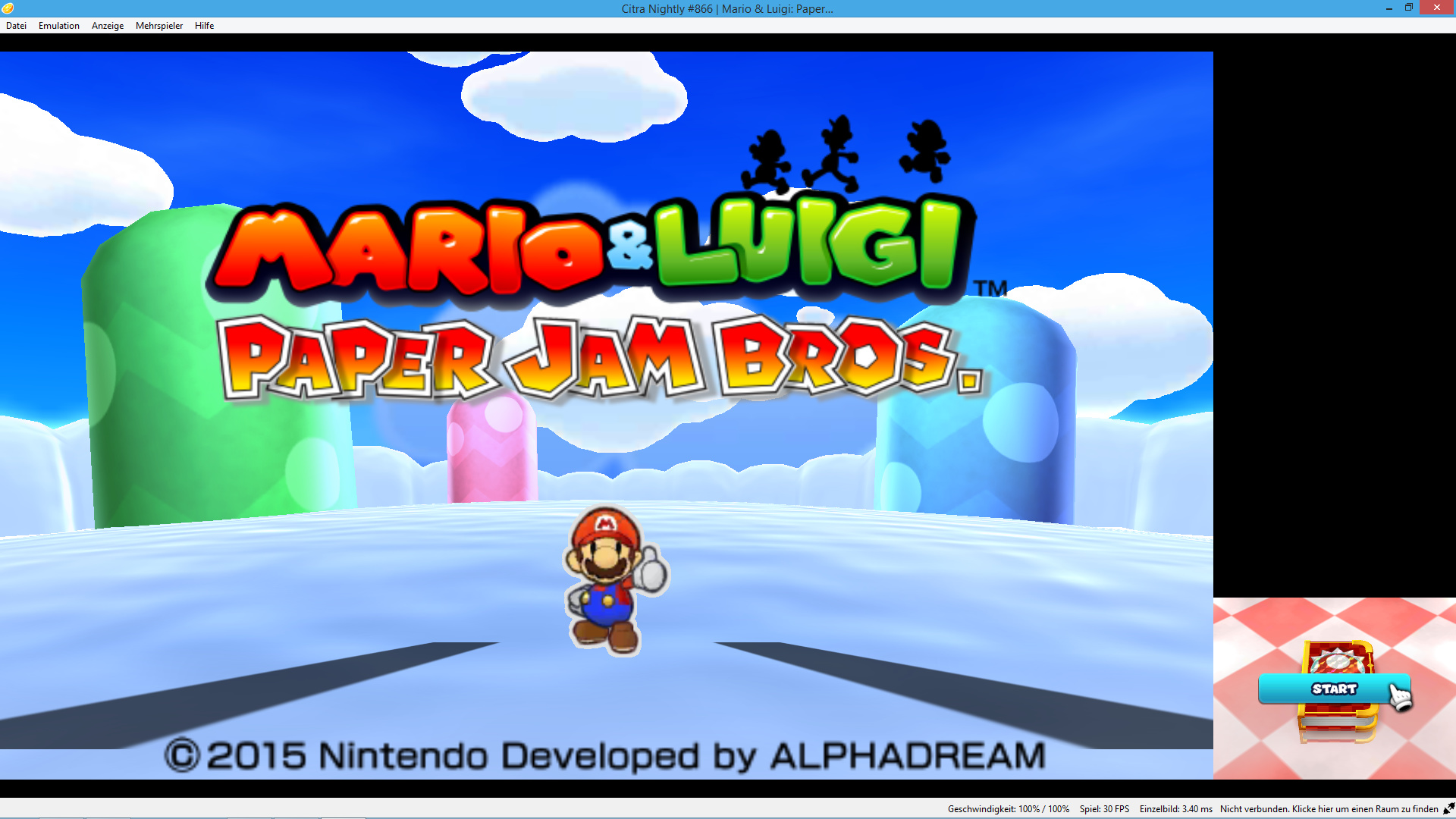 Why Is Everyone Invisible Except Paper Mario In Paper Jam Citra