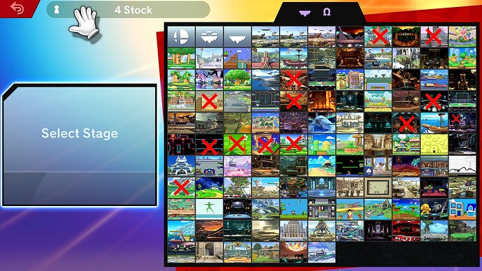 Non-Displaying_Smash_Stages - v1.0