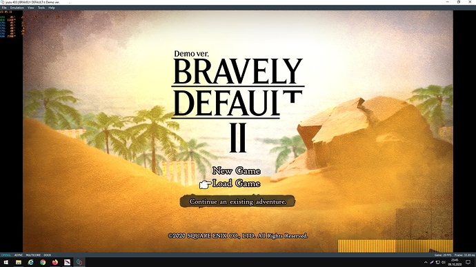 Bravely Default II DEMO 1