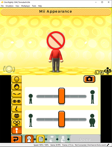 Tomodachi Life Miis not working - Citra Support - Citra
