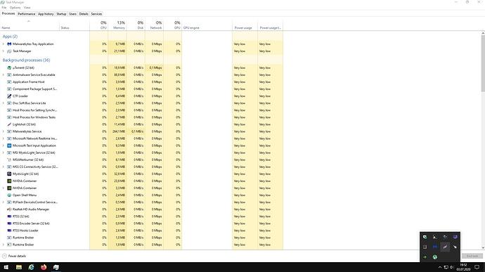 Windows 10 Status 2