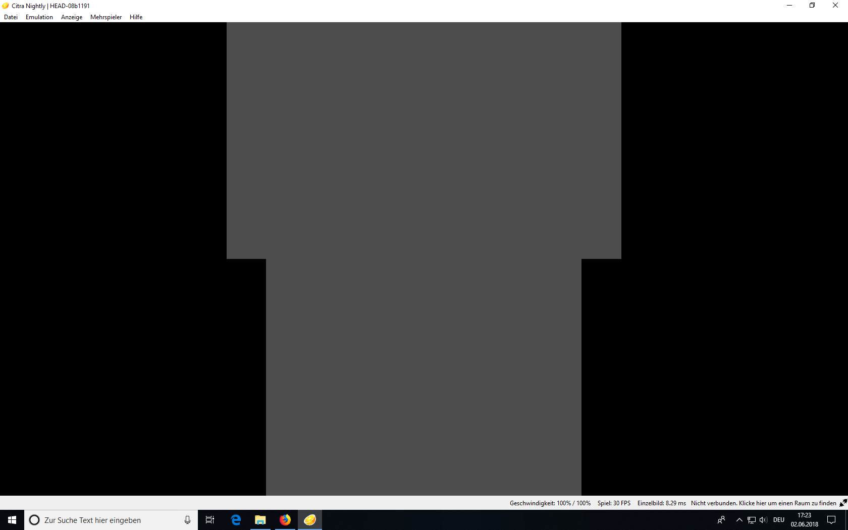 Grey screen when starting the game - Citra Support - Citra Community