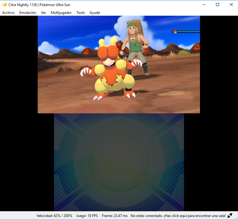 Pokemon Ultra Sun freezes mid game at same scene - Citra