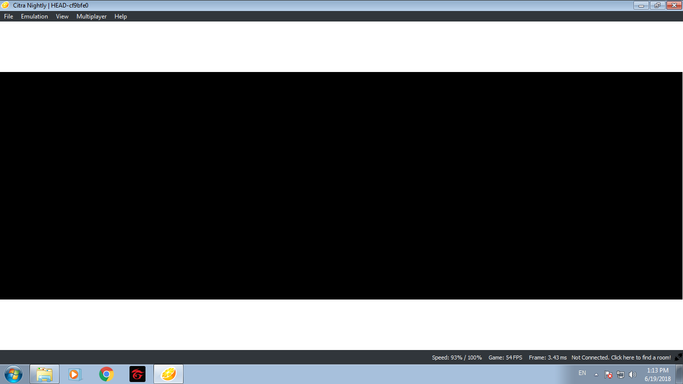 Black Screen upon starting Rune Factory 4 - Citra Support