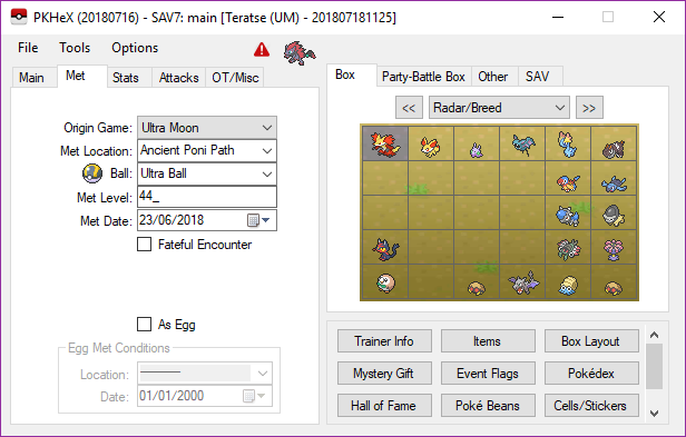 PKHex interface guide and tips - Tutorials - Citra Community
