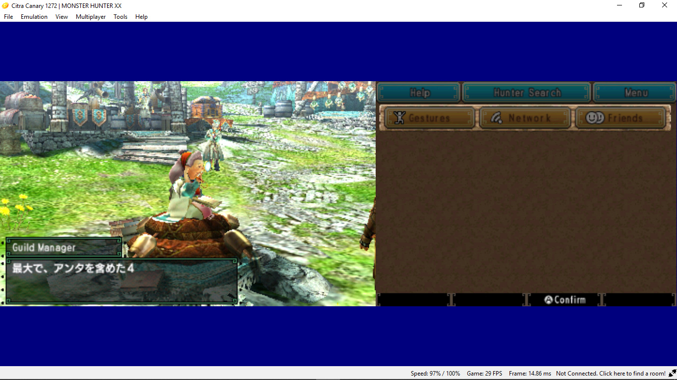 MHXX Freeze in new update - Citra Support - Citra Community