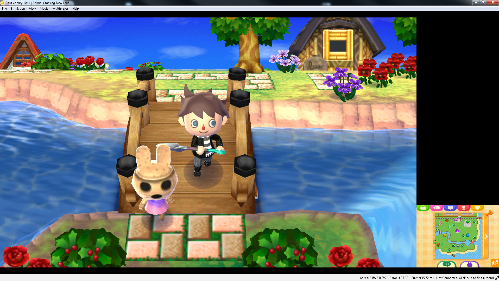 Citra runs super slow in Animal Crossing: New Leaf - Citra