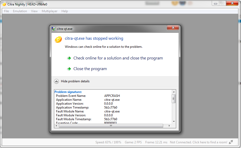 Rune Factory 4] AppCrash while loading game - Citra Support - Citra