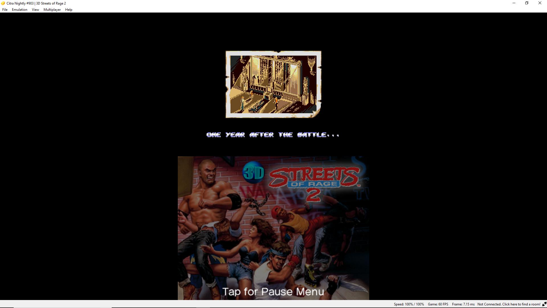 Sega 3d classics games like streets of rage and shinobi III